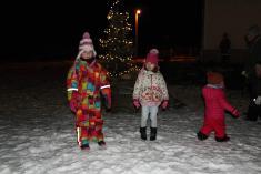 Vánoční výzdoba v Kramolíně