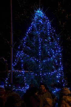 Vánoční výzdoba v Rudíkově