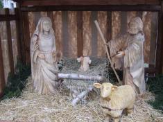 Betlém v obci Studenec