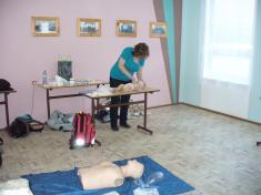 Proškolení členů SDH okrsku č. 14, zdravotní příprava