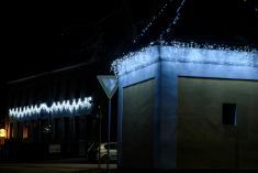 Světelná výzdoba v Náramči