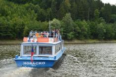 Lodní doprava na Dalešické přehrada