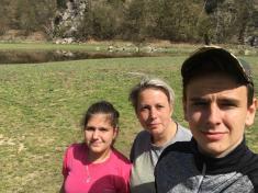 Čištění břehů Dalešické přehrady - Číměř