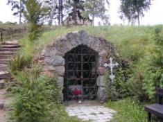 Pyšel - jeskyně Panny Marie