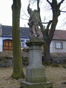 Tasov - socha sv.Jana Nepomuckého