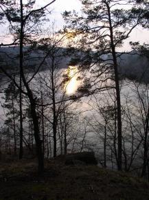 Třesov - vodní nádrž Dalešice