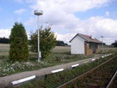 Pozďatín -železniční zastávka