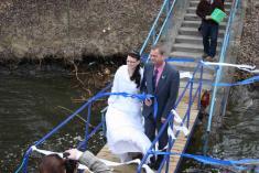 První svatba na lodi Horácko
