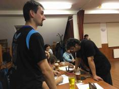 Pingpongový turnaj v Číměři